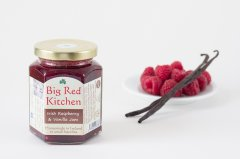 Big Red Kitchen Raspberry & Vanilla Jam