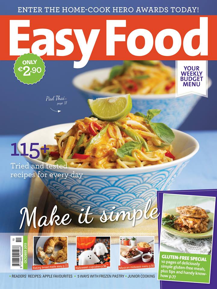 EasyFood Magazine October 2013