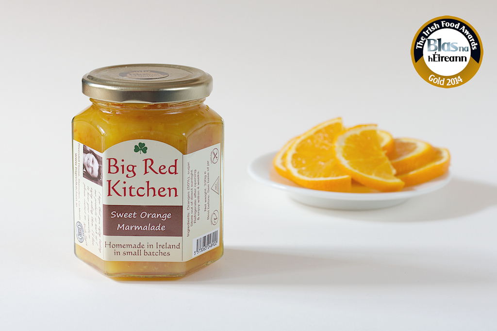 Gold for Sweet Orange Marmalade 2014