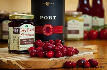 Cranberry and Port Sauce