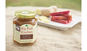 Irish homemade artisan Rhubarb & Ginger Jam