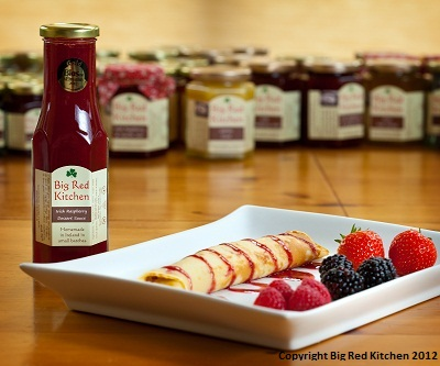 Irish homemade award-winning artisan Raspberry Sauce