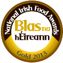 Winner of Gold at Blas na hEireann 2013
