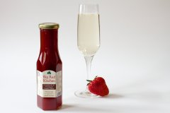 Big Red Kitchen Strawberry and Champagne Dessert Sauce