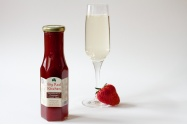 Irish homemade artisan Strawberry & Champagne Dessert Sauce